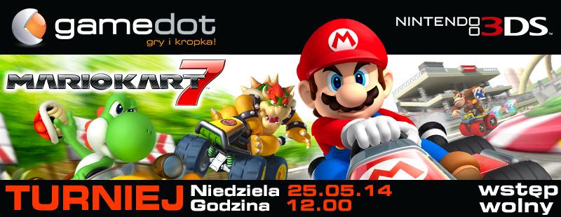 Turniej Mario Kart na 3DS w Poznaniu!