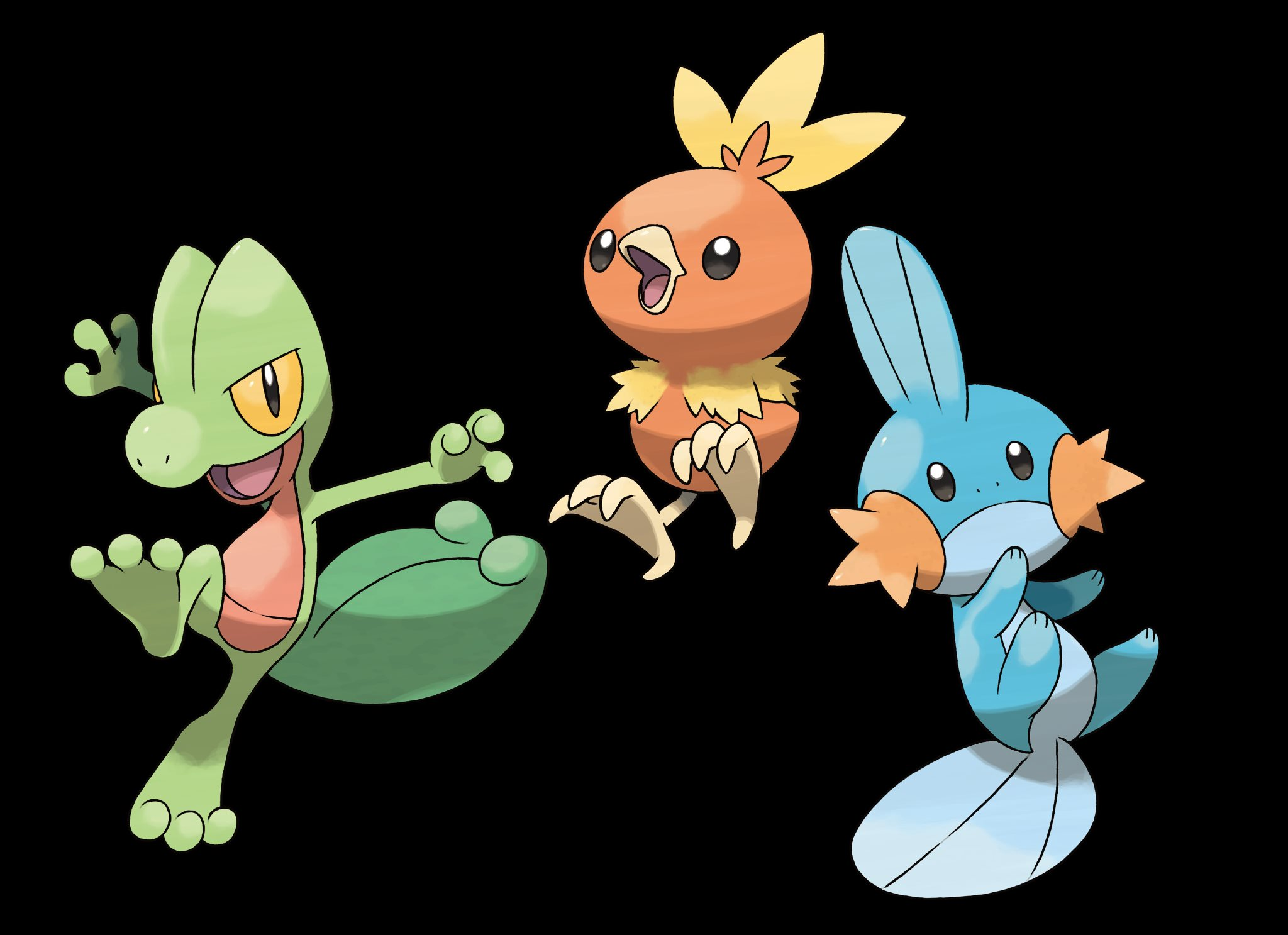 Treecko_Torchic_Mudkip_Group
