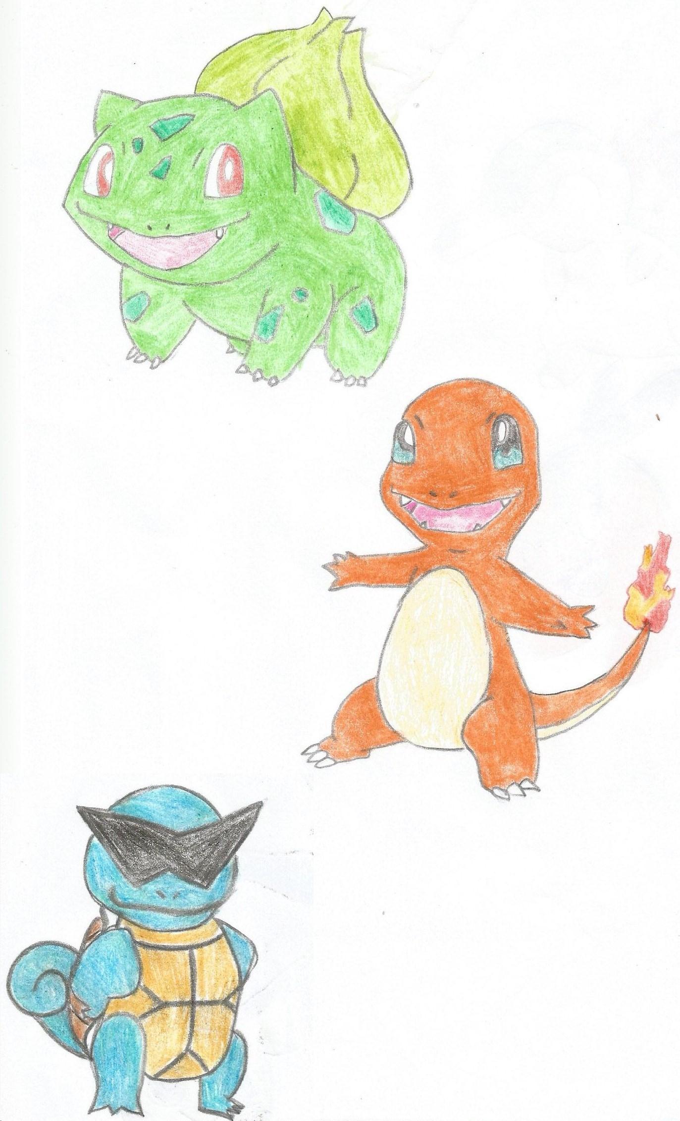 Squirtle, Bulbasaur czy Charmander – wybór startera regionu Kanto