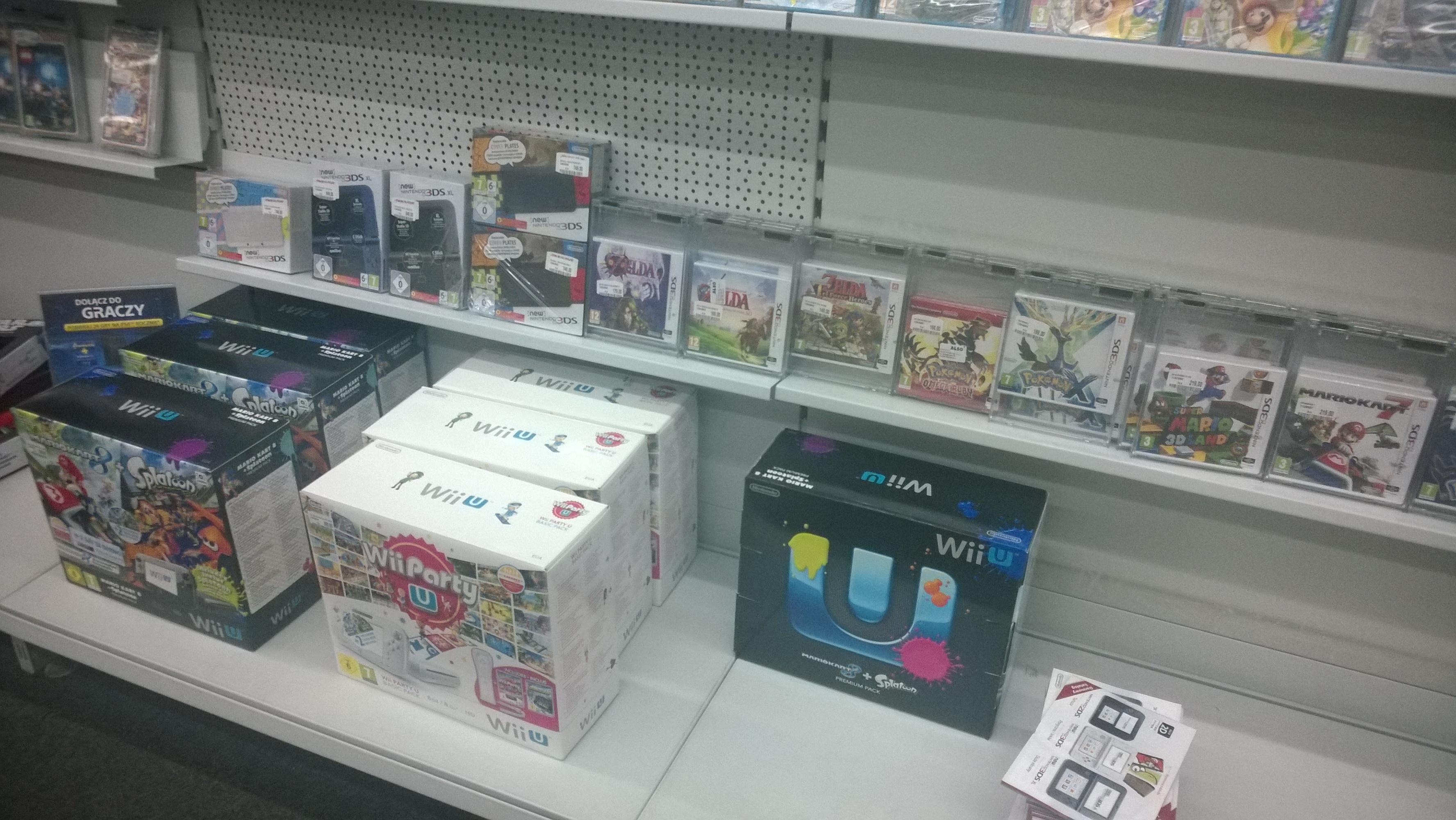 Produkty Nintendo w Polskich sklepach!