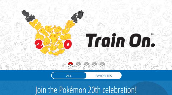 Mnóstwo atrakcji Pokemon na 20-lecie serii!