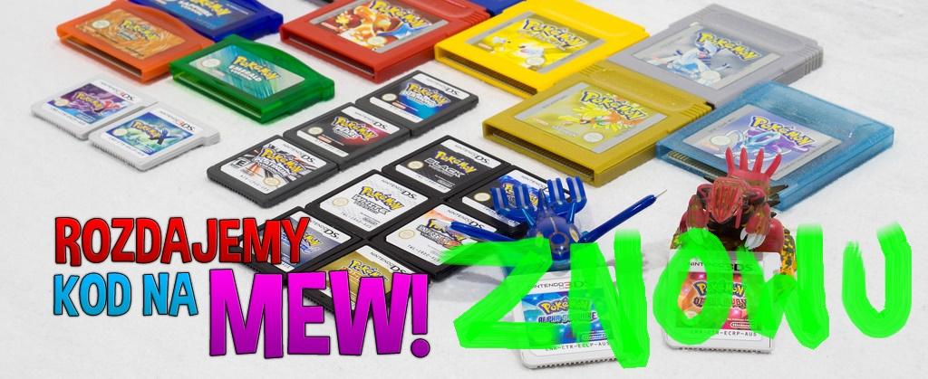 Rozdajemy kody na Pokemona Mew – ZNOWU!