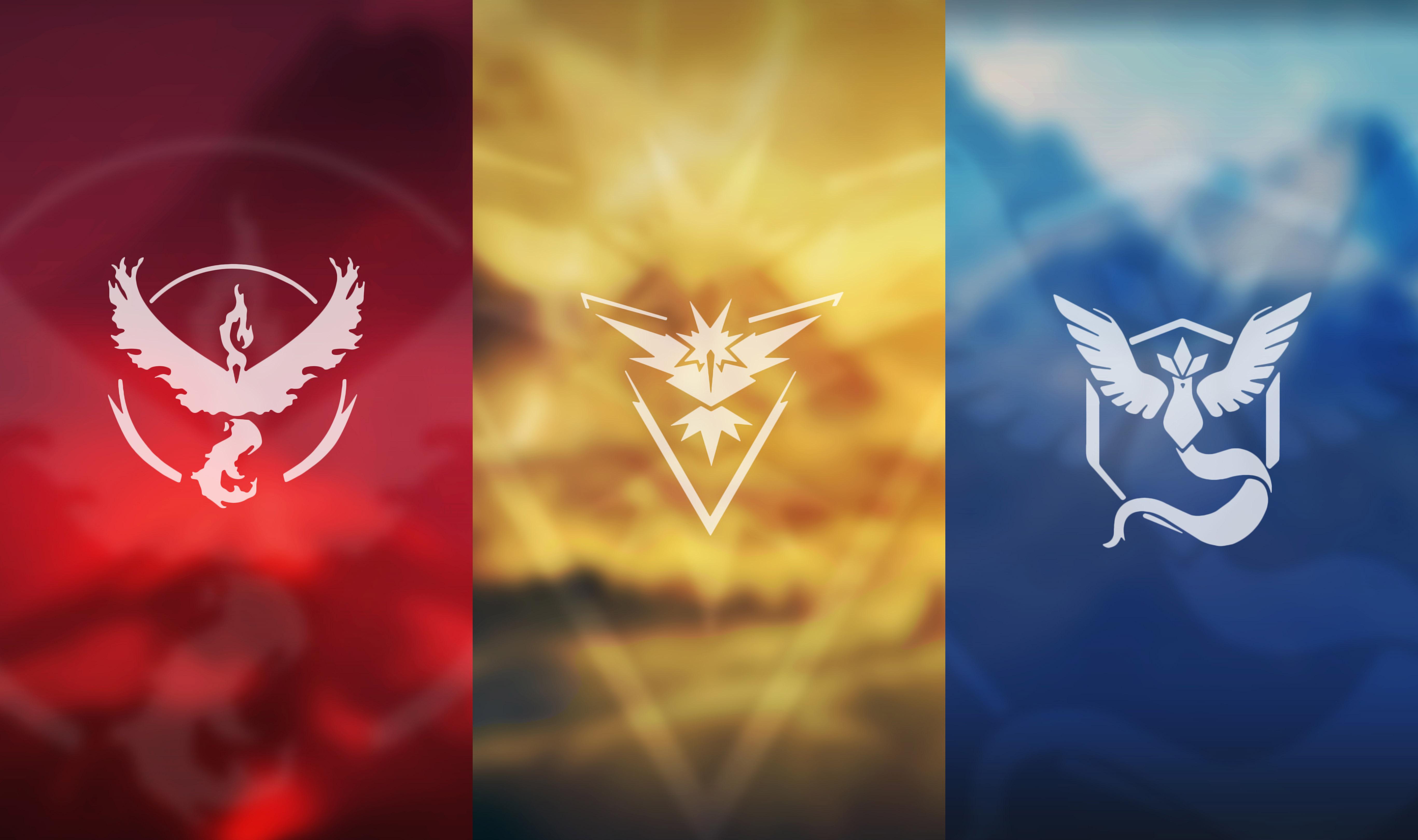 Wybór frakcji w Pokemon GO