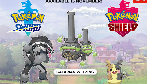 Nowe Galarskie Pokemony i Team w Pokemon Sword/Shield